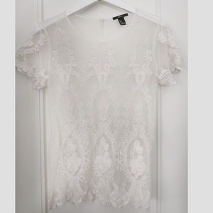 Romantic Lace Top | Never Used